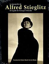 Spanish Alfred Stieglitz Photo Book Pictorialism OOP MINT