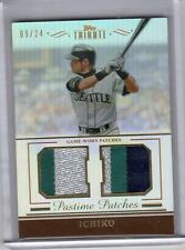 2011 TOPPS TRIBUTE PASTIME PATCHES 3 COLOR PATCH ICHIRO 9/24