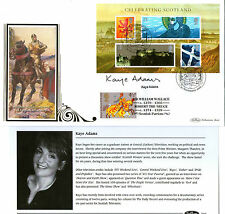 2006 CELEBRATING SCOTLAND HAND SIGNED KAYE ADAMS BENHAM FIRST DAY COVER SHS