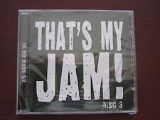 Thats My Jam disc vol 3 As Seen on TV CD NEW factory sealed