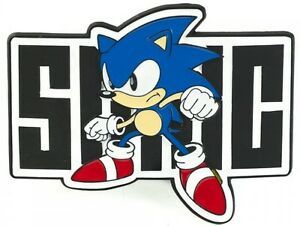 Official Sega SONIC THE HEDGEHOG Belt Buckle Men Women Boy Funny Cool Video Game