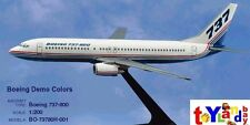 Flight Miniatures Boeing 737-800 House Colors 1981 Demo Livery 1/200 Scale New