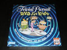 TRIVIA PURSUIT DVD FOR KIDS GAME PARKER BROS. 2006 FACTORY SEALED