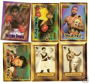 1996 RINGSIDE Boxing Card Set    80 Cards