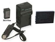 Battery + Charger for Sanyo DMXHD2000 DMX-HD2000EX VPCTH1BL VPC-HD2000A VPCFH11
