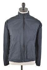 NIKE Mens Jacket Size 38 Small Black Cotton Vintage