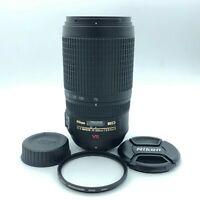 【MINT】Nikon Nikkor 70-300mm F/4.5-5.6 G AF-S VR IF ED Lens from Japan d42