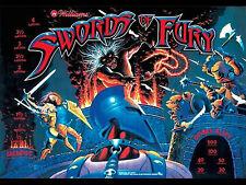 Swords of Fury Pinball LED Lighting Kit - Complete SUPER BRIGHT LED
