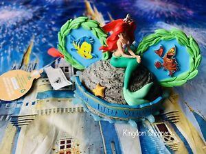 Disney Hollywood Studios Voyage Of The Little Mermaid Mickey Ear Hat Ornament