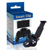 PS4 Smart Clip Cell Mobile Phone Clamp Holder Bracket For Game Controller Pad