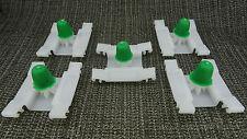 5Pcs VAUXHALL BUMPER & DOOR EXTERIOR BUMP STRIP SHORT STEM TRIM CLIP