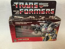 Transformers G1 Autobot Agent Jazz Boxed