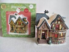 Santa's Workbench Victorian Series Silver Birches Lodge Christmas Village