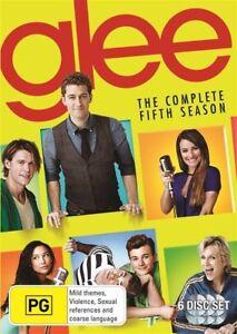 Glee - Season 5 (DVD,6 Disc Set) NEW+SEALED