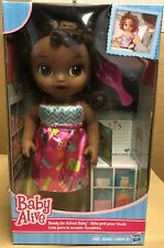 Hasbro New Baby Alive Ready For School Baby African American NIB