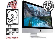 """Ricondizionato iMac 21.5"""" Apple Quad Core i5 potente MAC OS X 1TB 8GB (14,1. 2013)"""