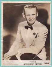 SAMMY KAYE - US Band Leader - Original Vintage PORTRAIT - 1930's