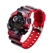 Fashion Men's LED Digital Alarm Military Date Rubber Army Waterproof Sport Watch