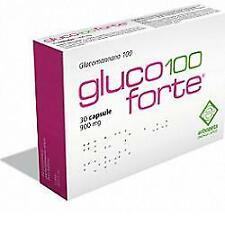GLUCO 100 FORTE GLUCOMANNANO 100 30 CAPSULE DA 900 MG