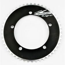 Sugino Messenger Track Chainring 44T x 1/8 Black 130BCD Fixed Gear Single Speed