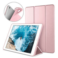 "Silicone Soft Back Leather Smart Case Flip Cover For iPad 7th 10.2"" 2019 Air 1/2"