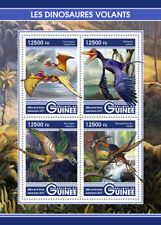 Guinea 2017 MNH Flying Dinosaurs Rahonavis Microraptor Lacusovagus 4v M/S Stamps