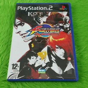 ps2 KING OF FIGHTERS COLLECTION The Orochi Saga KOF Game PAL UK ENGLISH Version