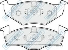 SEAT IBIZA 6K1 1.4 Brake Pads Set Front 99 to 02 Brakefit 1H0698151B Quality New