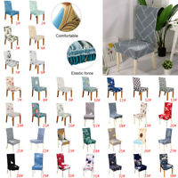 1/4/6Pcs Stretch Dining Chair Cover Removable Slipcover Washable Banquet Event