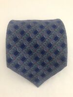 "STEFANO RICCI For Saks Fifth Ave Geometric Multi Color Silk Neck Tie 61"" - 4"""