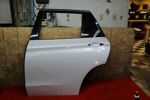 Rear Left Driver Side Door Shell Mineralweiss Metallic White OEM BMW X5 X5M F15