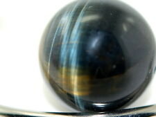 Tiger ojo 6 mm balas Strang Edelstein perlas AAA calidad superior