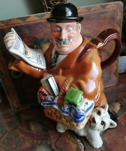 Ringtons Maurice Delivery Man Novelty Teapot Cardew Designs No. 1250/7,500