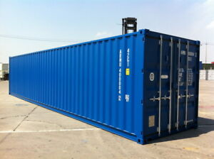 40ft shipping container NEW - Nationwide Stock - Green or Blue
