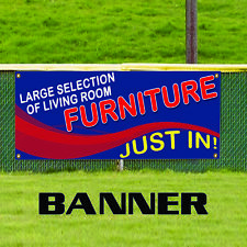 Large Selection Of Living Room Furniture Just In! Advertising Vinyl Banner Sign