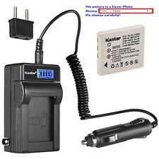 Kastar Battery LCD AC Charger for Kodak KLIC7005 K7600-C 1615350 EasyShare C763