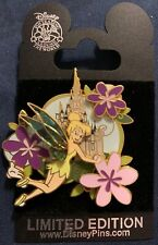 WDW - White Glove - Tink Tinker Bell Fairy with Flowers LE 1000 Disney Pin 67841