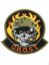 USAF Black Ops Groom Lake Area 51 Ghost Jolly Green Helicopter Squadron Patch