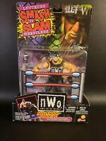 """Toy Biz NWO Smash 'n Slam Wrestlers """"Hollywood Hogan"""" Action Figure 1999 WWE WCW"""