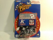 Winner's Circle Driver Sticker Kerry Earnhardt #2 Chevy 1:64 Scale Diecast mb368