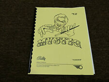 Mystic Pinball Manual with Full-Size, Fold-Out Schematics