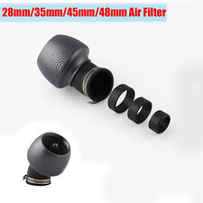 Motorcycle Scooter Cone Style Air Intake Filter with 28mm/35mm/45mm/48mm Adapter