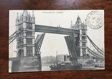 CPA Old Postcard - Tower Bridge - London - Angleterre England 1915