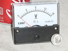 New 12v 16v Dc 12 16 V Volt Big Face Analog Panel Meter Rv Car Battery Voltmeter
