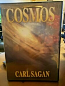 COSMOS BY CARL SAGAN DVD VIDEO COMPILATION, 4-PACK, GREAT  ADDITION TO YOUR HOME
