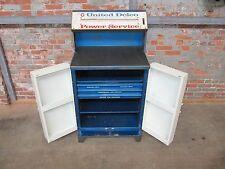 Vintage 1960s United Delco Power Service & Parts Cabinet 1957 - 1967