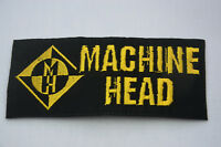 MACHINE HEAD HEAVY METAL 13x5cm  Embroidered Sew Iron On Cloth Patch Badge