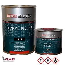 Inter troton 2k acrílico rellenador 5:1 incl. más dura gris | 3 litros dickschichtfüller