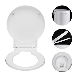 Ideal Standard Space Alternative Round Replacement Soft Closing Toilet WC Seat