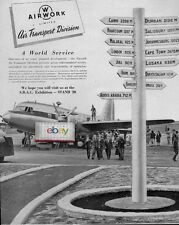 AIRWORK LIMITED UNITED KINGDOM VICKERS VIKING AT NAIROBI,KENYA 1952 AD